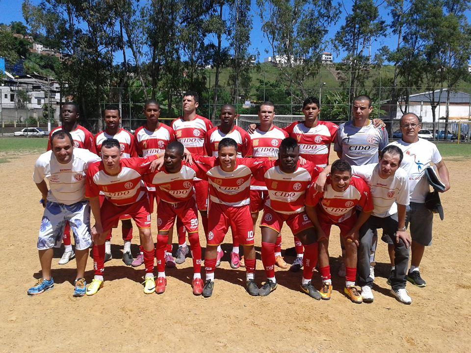 Equipe adulta do América do Progresso: tradicional clube do futebol amador local disputa a Copa JF