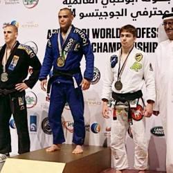 Juiz-forano 'Cascão' vence mundial de jiu-jitsu