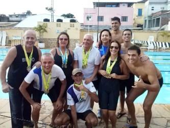 AABB-JF conquista 28 medalhas na 2ª Etapa do Metting de Natação Masters 2014