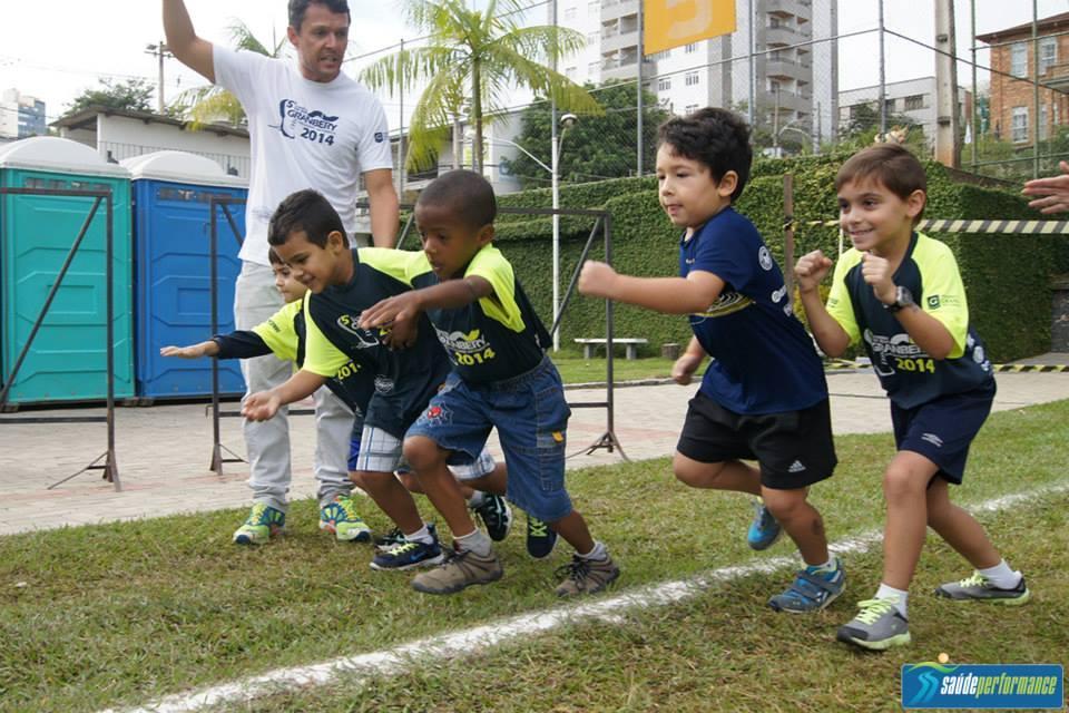 Crianças correram em provas nas categorias pré-mirim e mirim