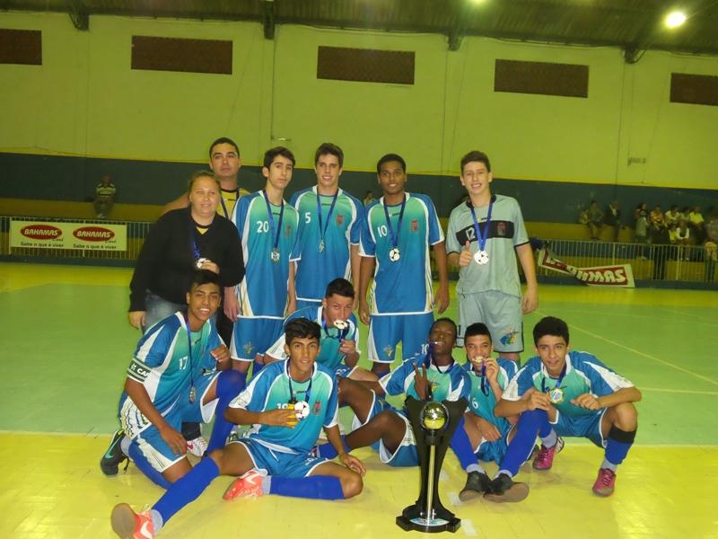 Coronel Pacheco: campeão infanto-juvenil 2014 da Copa Prefeitura Bahamas de Futsal
