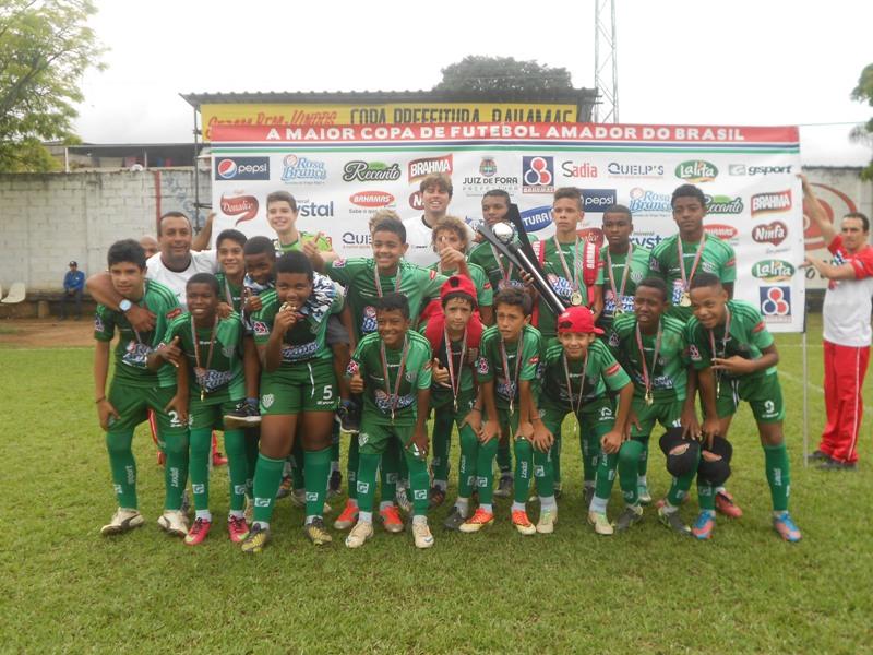 Bonsucesso: atual campeão da Copa Prefeitura Bahamas de Futebol Amador na categoria Mirim