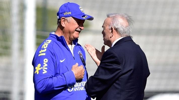 Amigo de Felipão, Marin estaria criticando opção tática do treinador na partida contra a Alemanha