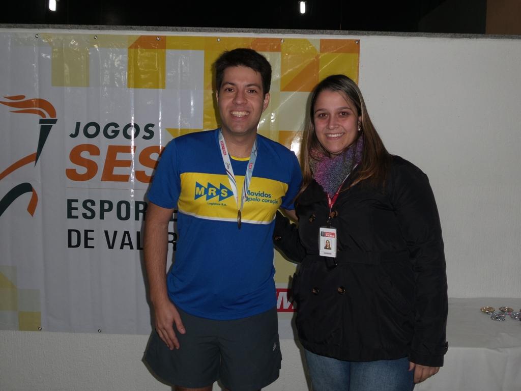 Rafael Mendonça: terceiro lugar para a MRS