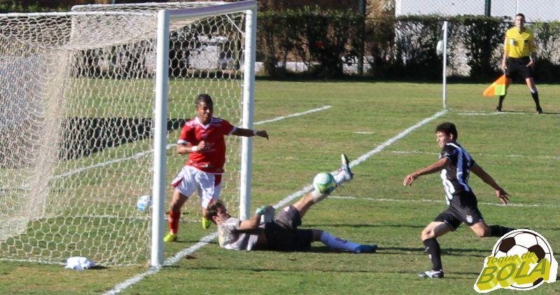 12 - no rebote o chute segundo gol