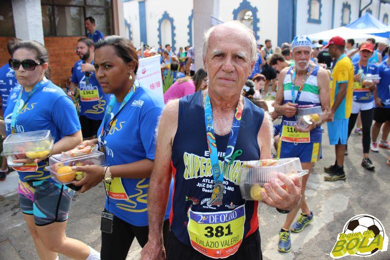 Evilázio Valério, 69 anos: sem sintomas de cansaço e com muito vigor, corre há 30 anos e até adoece se não correr