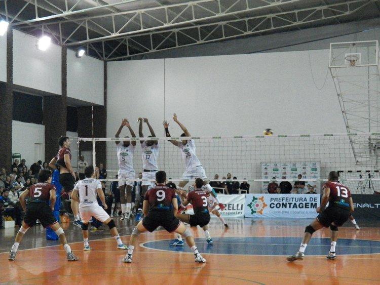 Terceira colocação provavelmente tira a possibilidade de enfrentar os campeões brasileiros do Sada/Cruzeiro nas semis