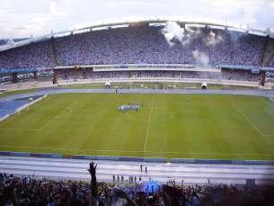 Estádio do Mangueirão quase não foi utilizado pelo Paysandu nesta temporada. Mesmo assim, equipe tem bom rendimento em campo e boa média de público nos jogos em casa