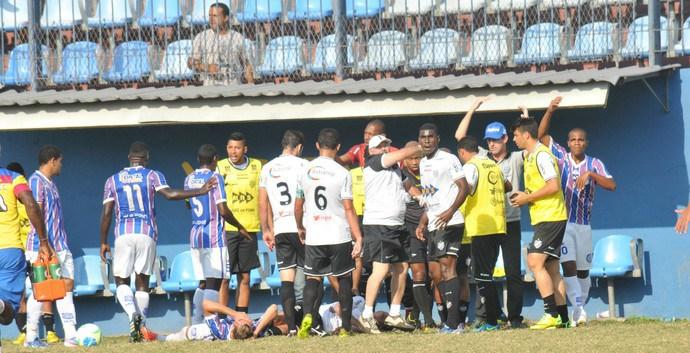 Contusão de Marcelinho ocorreu há mais de um mês, em 13 de setembro, na vitória fora de casa do Tupi sobre o Madureira