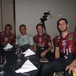 Manius, Chiquita, Alemão e Batagim representaram a equipe da Federal no evento