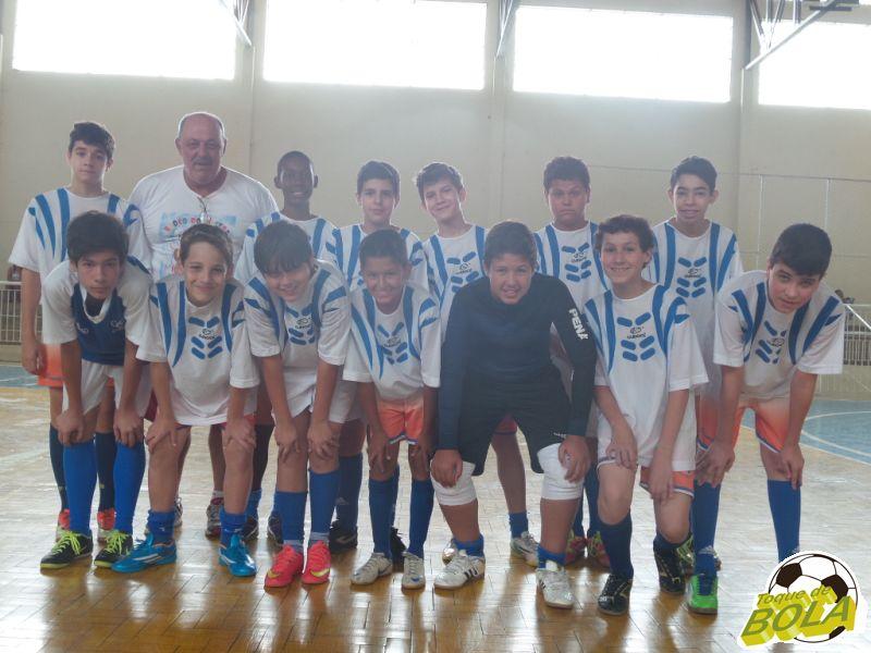 Equipe Sub-13 do São Mateus