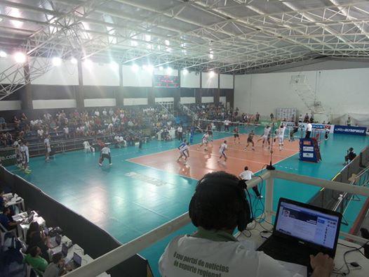 Rádio web do Toque de Bola transmitiu UFJF x Ziober Maringá com grande audiência