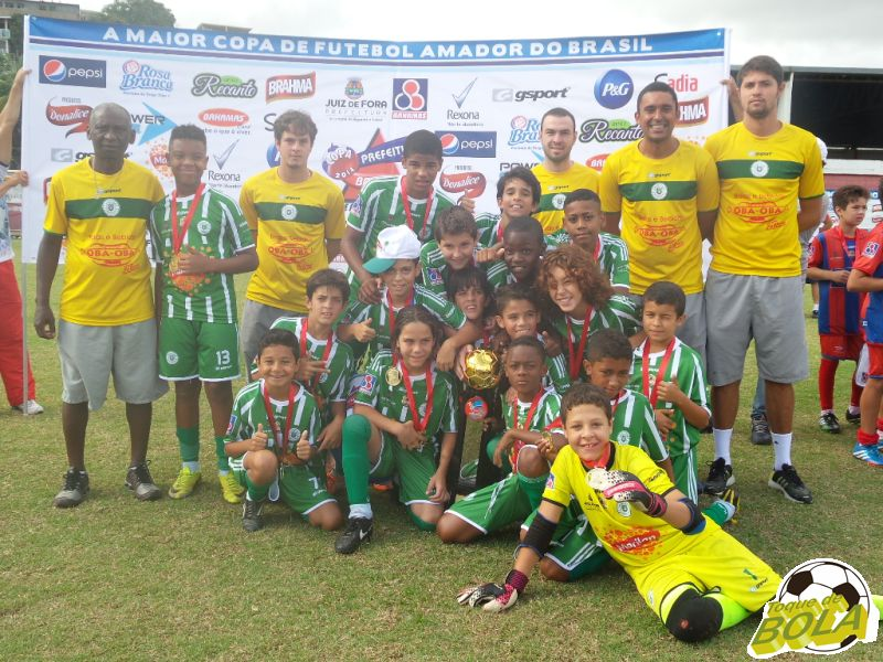 Sport Club Juiz de Fora: campeão dente-de-leite da Copa Prefeitura Bahamas de Futebol Amador 2014