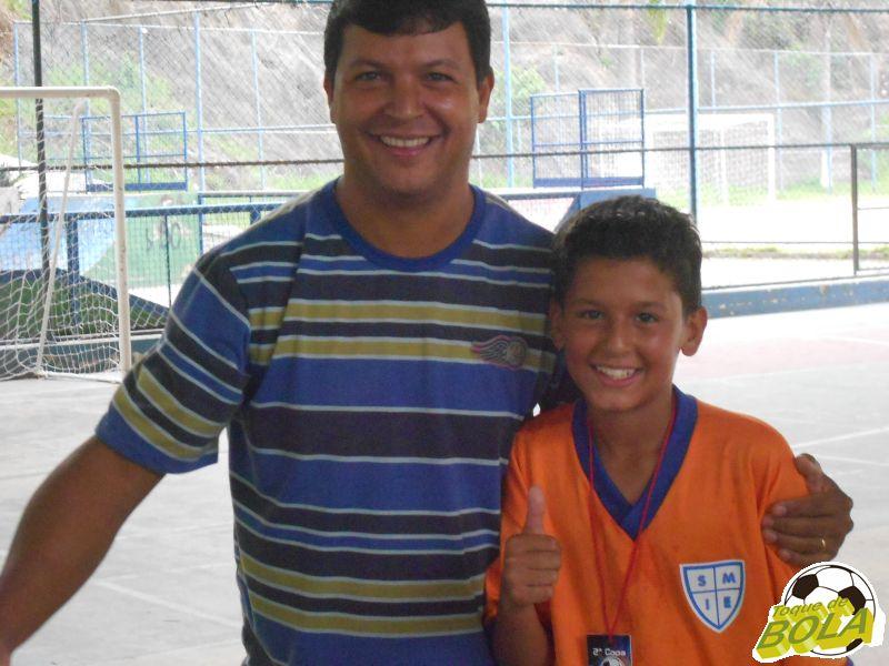 """Perguntem ao Mateus Rodrigues, apelidado carinhosamente de """"Fininho"""", se ele ficou feliz com o gol do título"""
