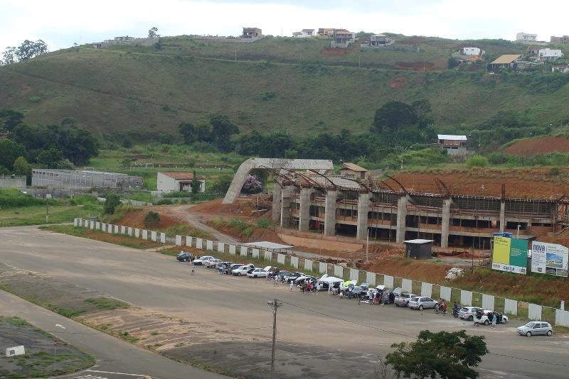 Projeto do Ginásio inclui instalações como academia e suporte para cerca de 5,5 mil torceodres