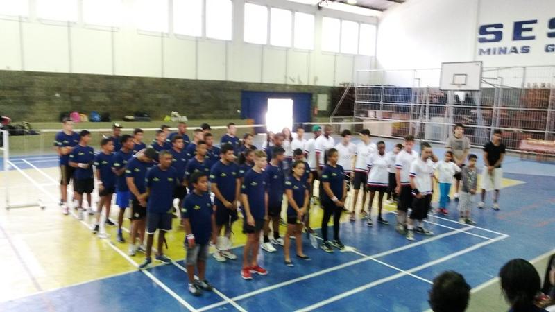 Evento contou com a presença de cerca de 70 atletas