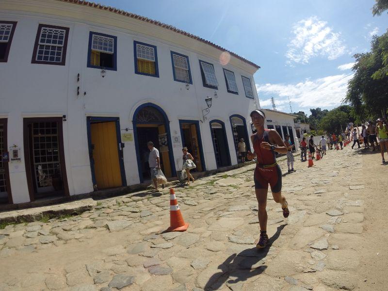 Cláudia Scaldini em prova em Paraty- RJ (Foto: Divulgação VidaAtiva)