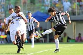 Falhas no início decretam derrota do Tupi para o Atlético na estreia: 2 a 0. Caldense goleia e lidera
