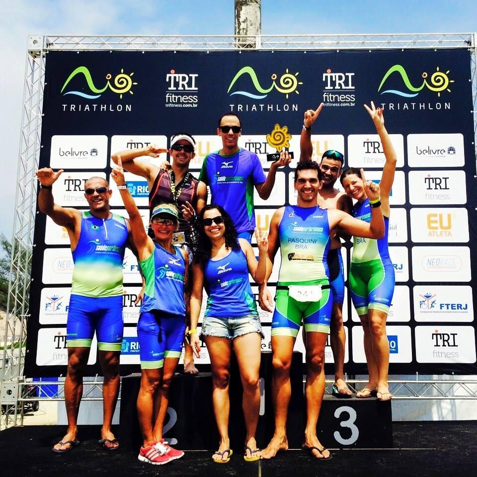 SaúdePerfoance conquista 1° lugar geral na 1ª Etapa Rio Triathlon