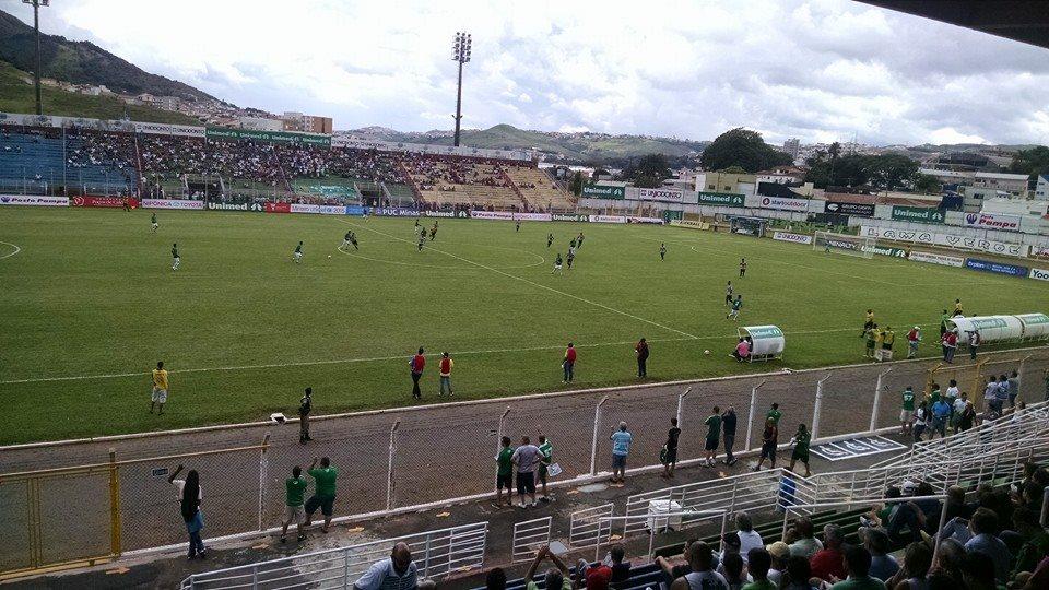 Estádio Ronaldão foi o palco de Caldense e Tupi. (Foto: Facebook oficial da Caldense)