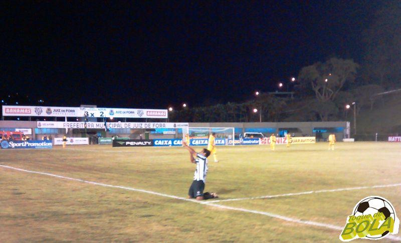 Daniel Morais assumiu a artilharia isolada da Série C com cinco gols marcados em quatro partidas