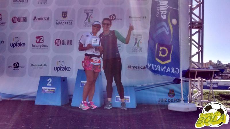 Atleta Célia Claveland representou o ACJF/JF Paralímpico na premiação