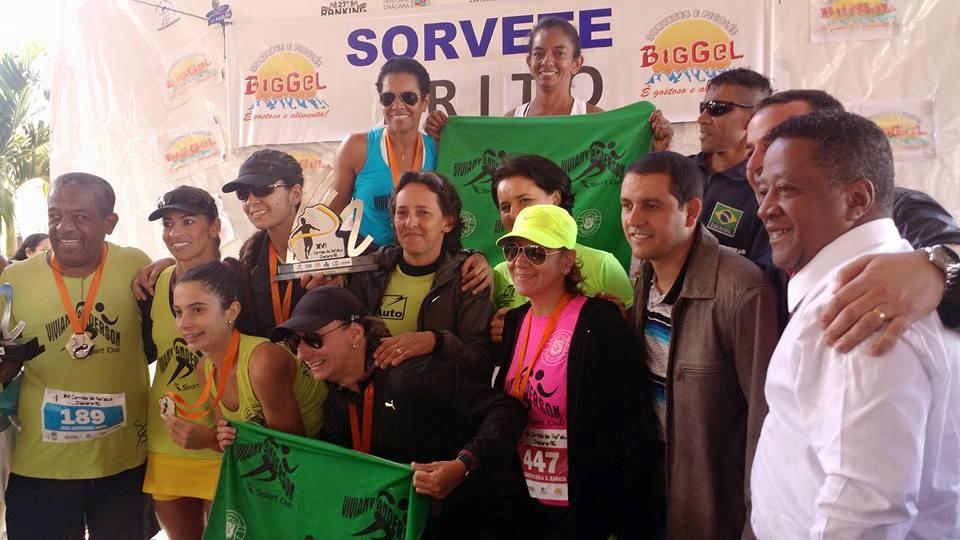 Equipe do Viva Sport Club levou primeiro lugar entre as mulheres (Foto: Dayse Moura Resende)