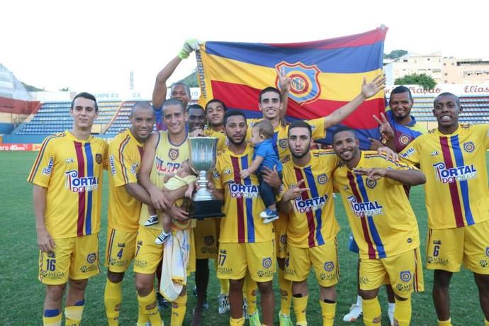 Madureira conquistou a Taça Rio 2015 (Foto: Assessoria Madureira)
