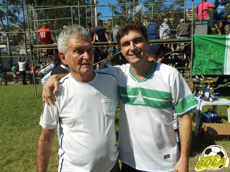 Futebol na veia: Moacyr Toledo e Paulo Henrique Toledo campeões também na Copa JF de Futebol Amador