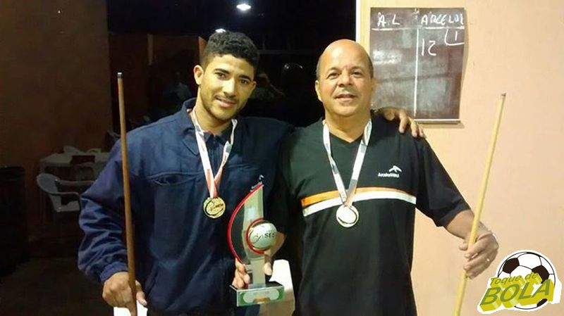 Campeões, Rodrigo da Silva (esquerda) e José Fausto Andrade já carimbaram presença na etapa em 2016