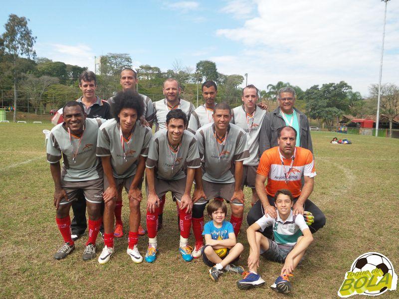 Arcelor: vice campeã no futebol sete master