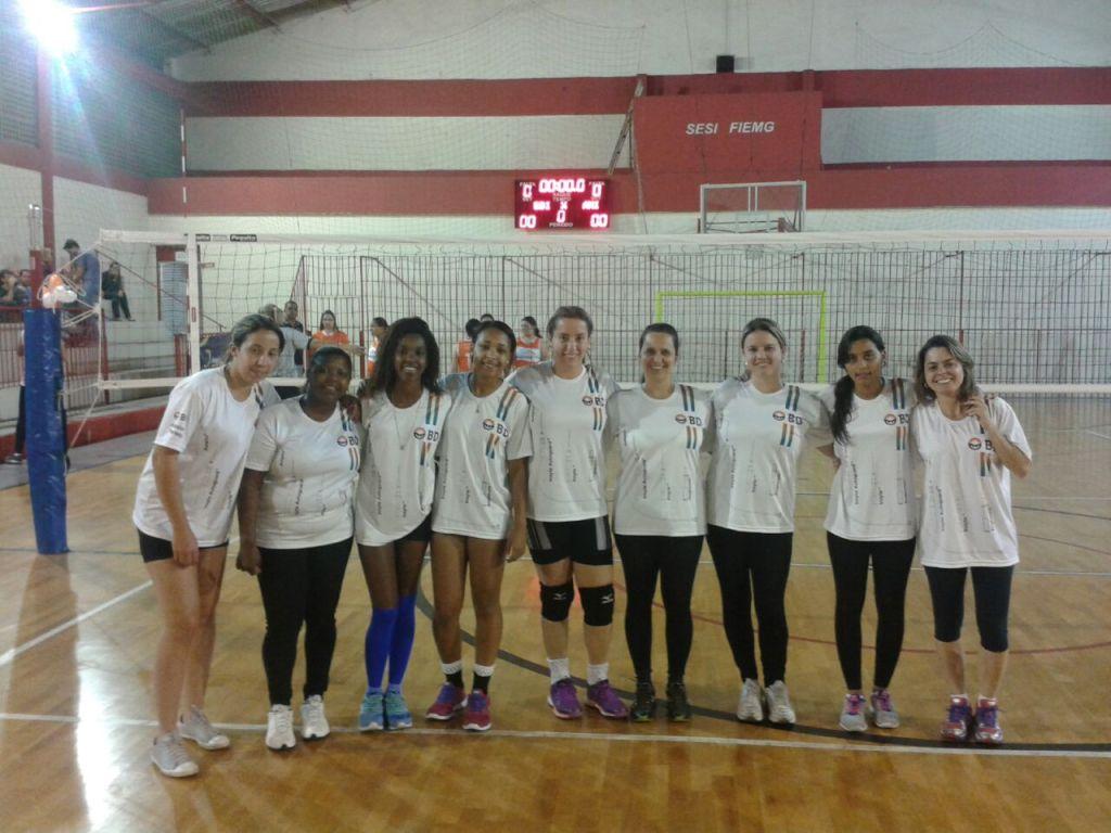BD: título no vôlei feminino dos Jogos Sesi Juiz de Fora 2015