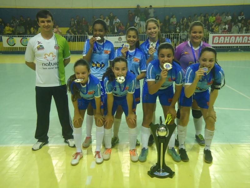 Matias Barbosa: título infantil da Copa Prefeitura Bahamas de Futsal 2015