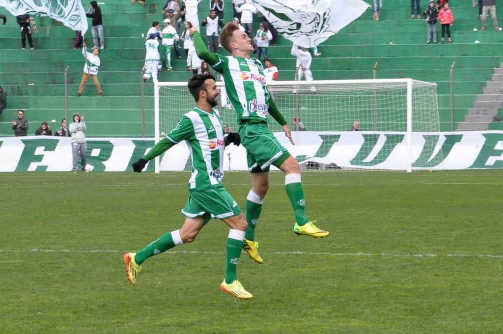 Juventude venceu dois últimos jogos na Série C. (Foto:Arthur Dallegrave/E.C.Juventude)