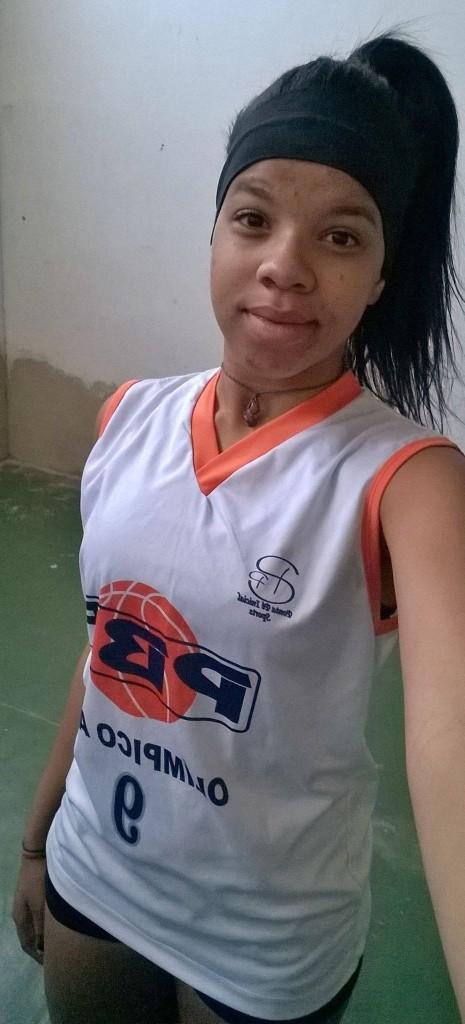 Vitória Leite, atleta do PBF selecionada para a Seleção Mineira (Foto: Divulgação/PBF)