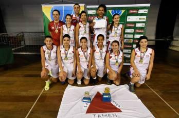 Vitória, do PBF, é campeã brasileira com Seleção Mineira sub-15