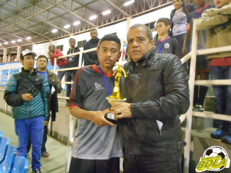 Vinicius Gabriel, artilheiro da categoria mirim com 12 gols