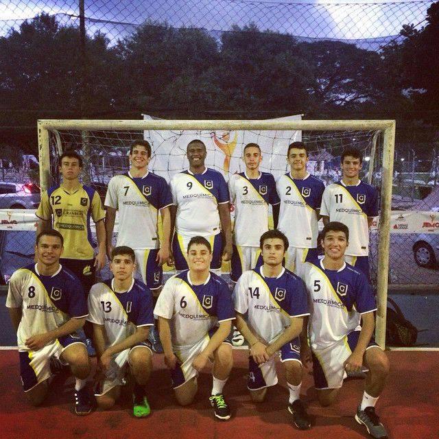 Time do Granbery ficou com o vice-campeonato estadual. (Foto: Facebook Thiago Ladeira)