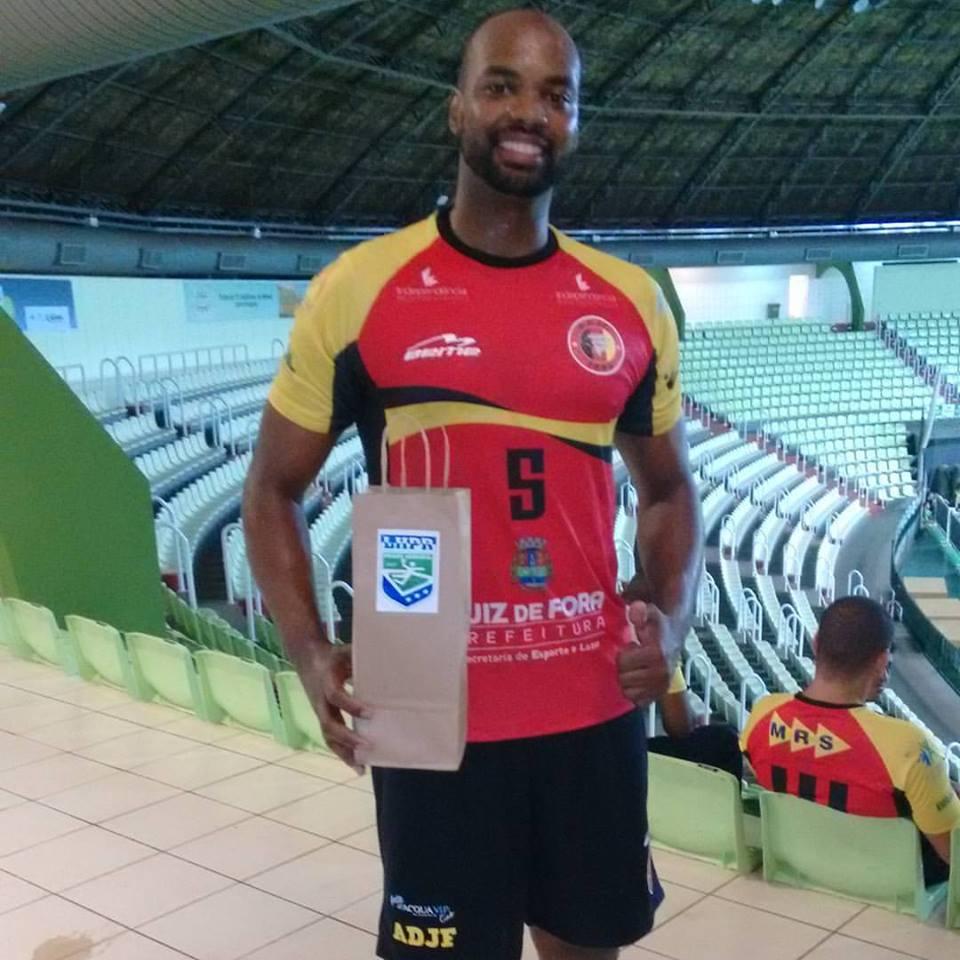 Guilherme Silva, da ADJF, ficou fora da seleção do campeonato