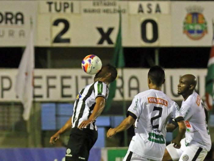 Tupi pode subir para a Série B até com derrota por um gol de diferença (Foto: Leonardo Costa /tupifc.esp.br)