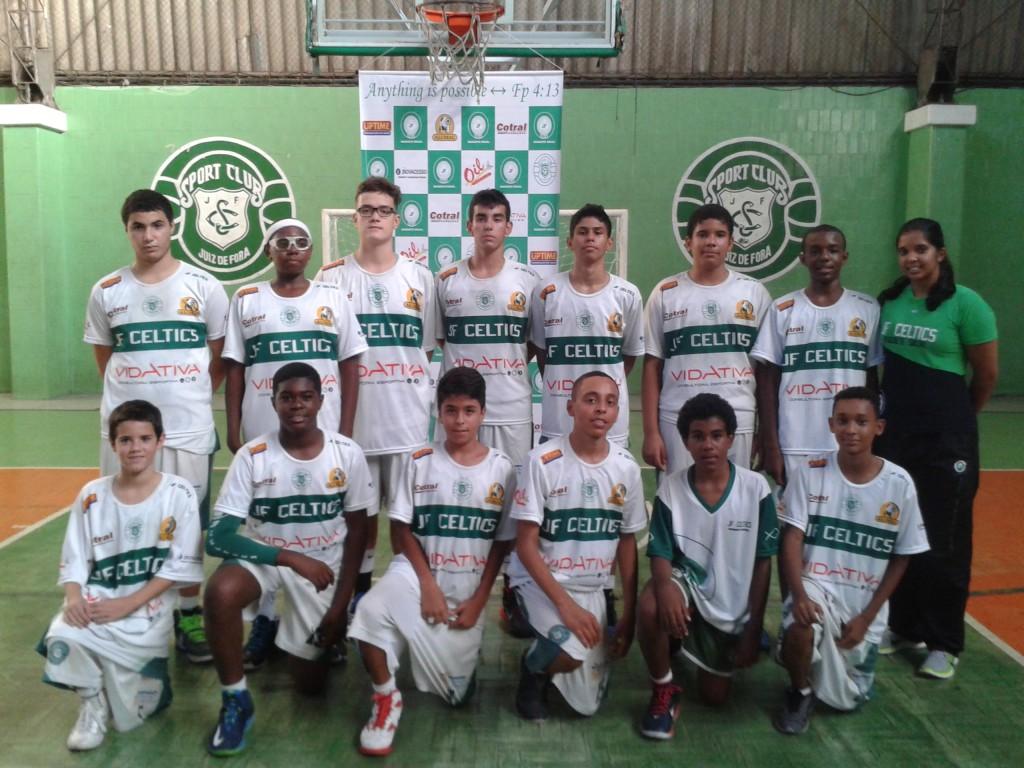 JF Celtics sub-14 (Foto: Divulgação)