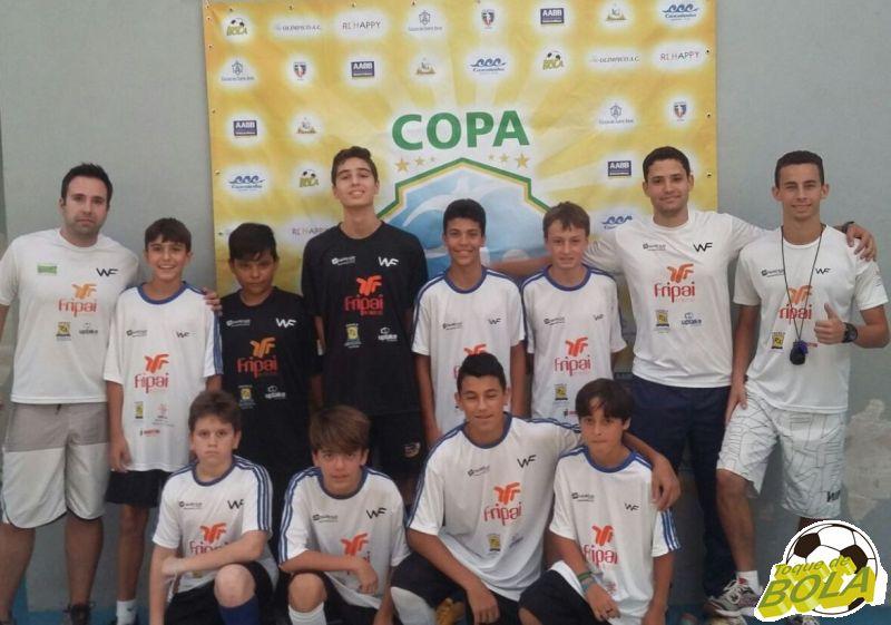 Escola Welington Fajardo / Fripai é uma das atrações da 3ª Copa Toque de Bola de Futsal