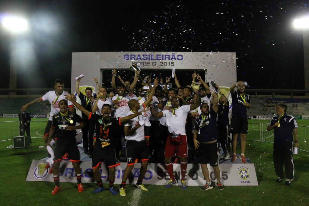 Título da Série D foi o primeiro do Botafogo a nível nacional (Foto: Rogério Morotti/Agência Botafogo)