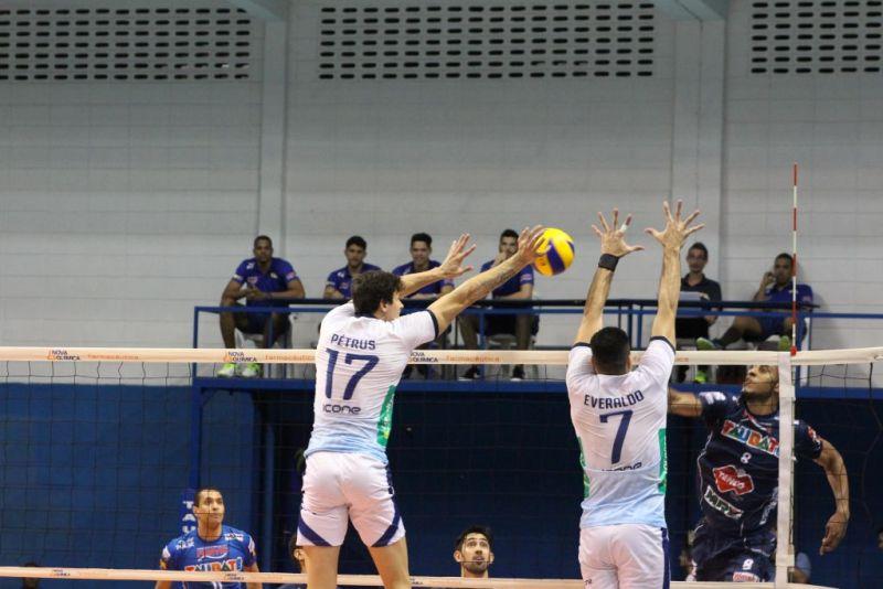 Minas perdeu para o Taubaté na última rodada da Superliga (Foto: Rafinha Oliveira/Funvic Taubaté)