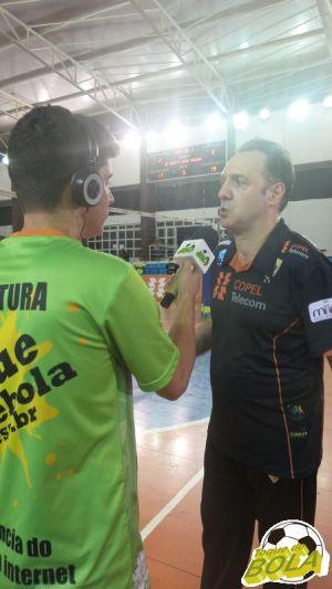 Horacio Dileo pediu que atletas do Maringá desfrutassem o resultado