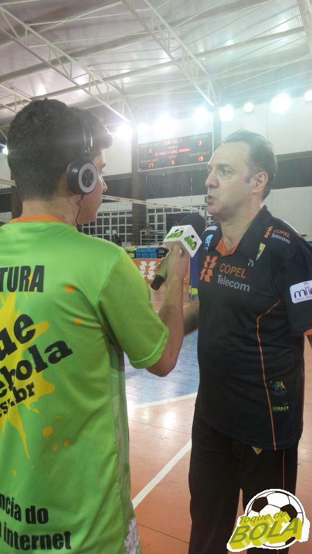Horacio Dileo comanda a equipe do Copel Telecom Maringá