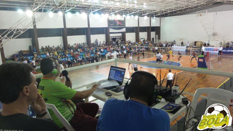 Transmissão do Toque foi novamente sucesso com os comentaristas José Eduardo Bara e Eugênio Gomes