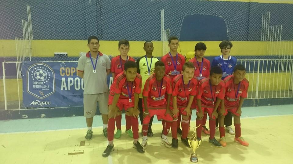 CAER Três Rios vice-campeão sub-13
