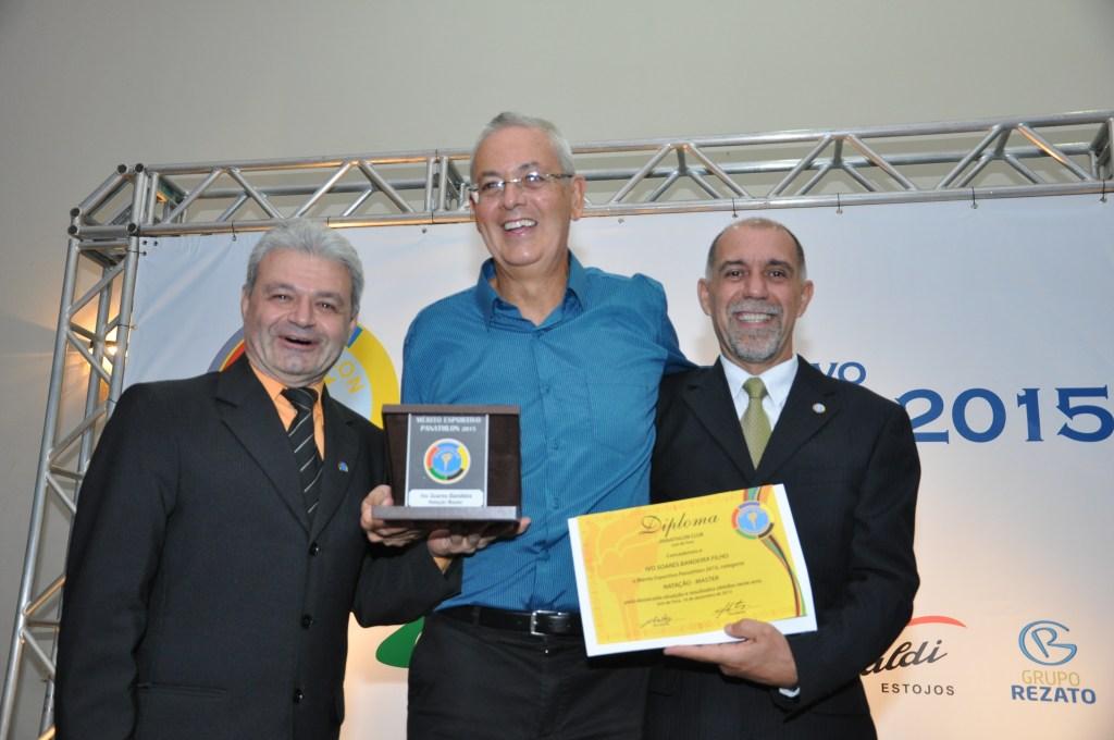 Ivo Bandeira recebe o Mérito Esportivo Panathlon
