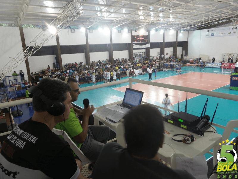 Web rádio do Toque de Bola realizou mais uma transmissão de sucesso no sábado, pela Superliga Masculina de Vôlei